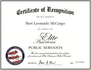 McCargo, Bert 1070278